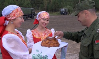 «Щит Союза – 2019». Белорусские военнослужащие продолжают прибывать на российский полигон Мулино