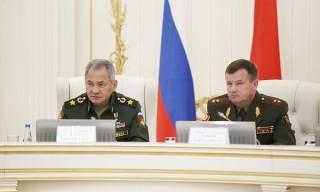 Ряд важных документов подписан в ходе совместной коллегии оборонных ведомств Беларуси и России
