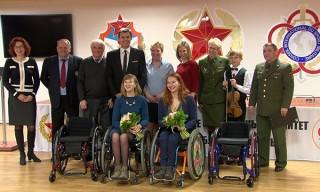 Подарки паралимпийцам