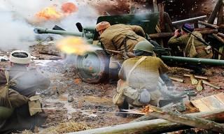 17 ноября празднуем «День артиллериста» на «Линии Сталина»