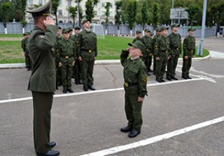 Минское суворовское военное училище принимает документы до 1 июня