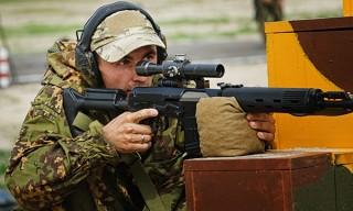 Стрелок из Беларуси установил рекорд на «Снайперском рубеже»