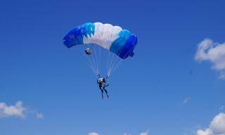 Чемпионат Вооруженных Сил по парашютному спорту проходит в Бобруйске