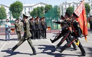 В Минском суворовском военном училище состоялся 62-й выпуск