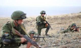 Белорусский тактический воздушный десант высадился в горах Кыргызстана