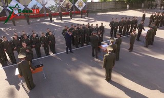 Более полутысячи первокурсников армейской альма-матер приняли Военную присягу