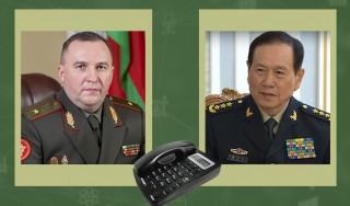 Беларусь и КНР. Телефонные переговоры в сфере военного сотрудничества