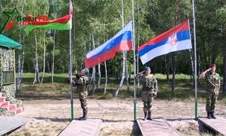 Началось совместное белорусско-российско-сербское учение «Славянское братство – 2017»