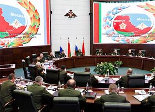Состоялась совместная коллегия министерств обороны Беларуси и России