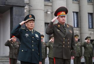 Министр обороны КНР находится с официальным визитом в Беларуси