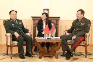 Китайская военная делегация находится с визитом в Беларуси