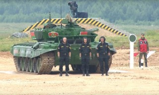 Танковый биатлон. Белорусы – первые в индивидуальном заезде (ОБНОВЛЕНО)