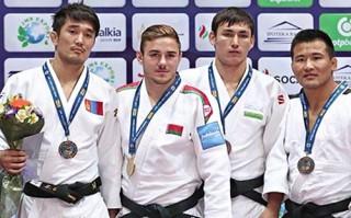 Белорусский дзюдоист Дмитрий Миньков завоевал золото этапа Гран-при в Ташкенте