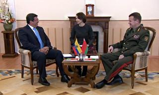 Беларусь и Эквадор обсудили вопросы военного сотрудничества