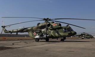 В Беларусь прибыла вторая партия вертолетов Ми-8 МТВ-5