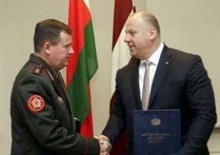 Министр обороны Республики Беларусь находится с визитом в Латвийской Республике