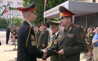 В Минском суворовском военном училище состоялся 61-й выпуск
