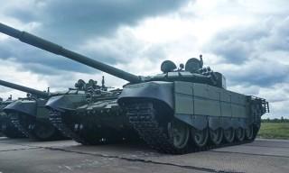 Модернизированные танки Т-72Б3 поступили на вооружение белорусской армии