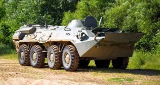 Белорусские специалисты модернизировали бронетранспортер БТР-70