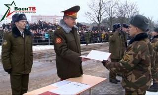 Новое пополнение Вооруженных Сил Беларуси приняло Военную присягу