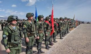 В Кыргызской Республике завершилось учение КСОР ОДКБ «Взаимодействие-2018»