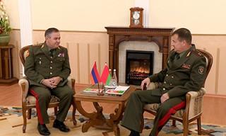 В Беларуси с визитом находится начальник Генерального штаба Вооруженных сил Армении