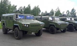 Вооруженные Силы Беларуси пополнятся новыми бронеавтомобилями