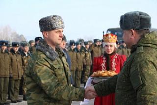 Белорусские десантники прибыли на учения в Ульяновск