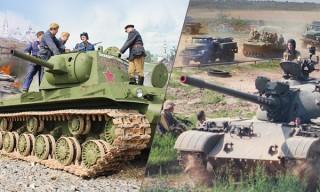 Праздник «День танкиста» пройдет на «Линии Сталина» 9-10 сентября