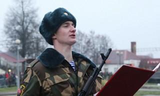 12 декабря состоится церемония принятия Военной присяги новым пополнением. Прямая трансляция