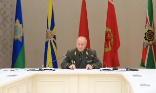 Брифинг начальника Генерального штаба Вооруженных Сил – первого заместителя министра обороны Республики Беларусь