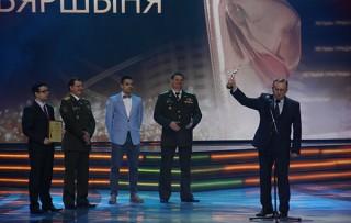 Телекомпания «Воен ТВ» получила золотую статуэтку XIII «Телевершины»
