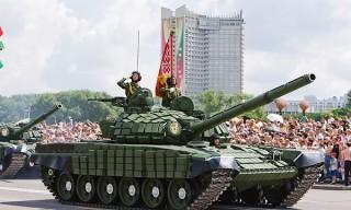 Военный парад в честь Дня Независимости Республики Беларусь