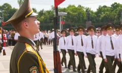 Выпуск военно-транспортного факультета