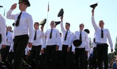 Выпускной в Военной академии 2021