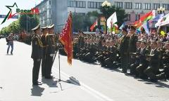Юбилейный выпуск в школе прапорщиков