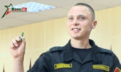 Белорусы – на зеленом танке