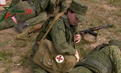 Военные медики готовятся к армейским играм