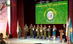 Белорусская команда – победитель конкурса «Воин содружества»