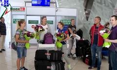 Армейские спортсмены вернулись из Франции с медалями