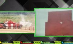 Видеофакт. Безупречная стрельба белорусского танка