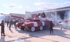 Танковый биатлон. Подготовка машин