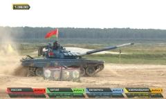 «Танковый биатлон». Белорусы – в тройке сильнейших!