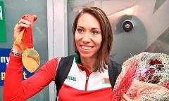 Армейская спортсменка Марина Арзамасова завоевала золото в Пекине