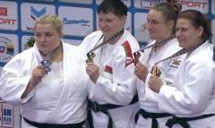 Марина Слуцкая завоевала золото чемпионата Европы по дзюдо