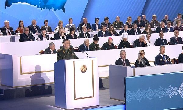 Выступление генерал-майора Муравейко