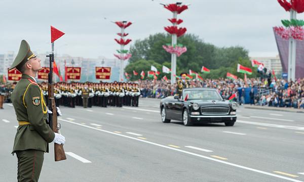 Параду в Беларуси – быть