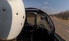 Миг-29. Переговоры из кабины пилота. Посадка на АУД