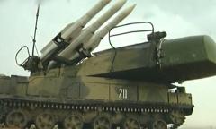 Зенитный ракетный комплекс «Бук». Пуски ракет