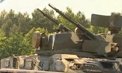 Зенитный пушечный ракетный комплекс «Тунгуска». Пуски